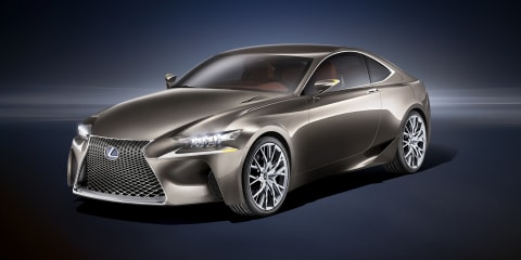 Lexus LF-CC concept previews 2013 IS sedan and coupe