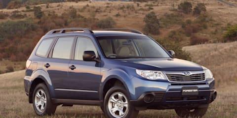 Subaru Forester X special edition with SatNav
