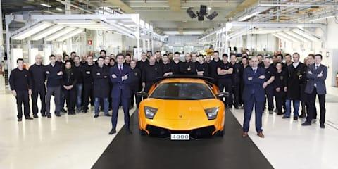 Lamborghini Murciélago passes 4000 milestone