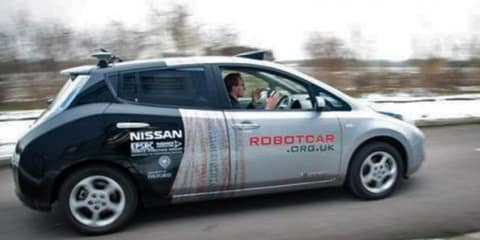 UK approves autonomous car testing to tackle congestion