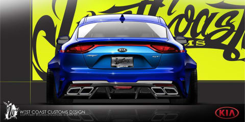 Kia slams Stinger for SEMA