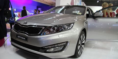 Kia Optima at 2010 AIMS
