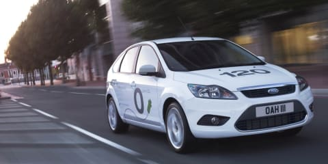 Ford Focus BEV concept unveiled at Frankfurt