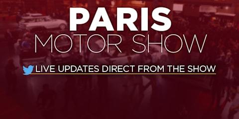 2016 Paris motor show:: LIVE FEED
