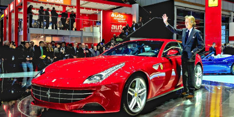 2011 Ferrari FF at Geneva