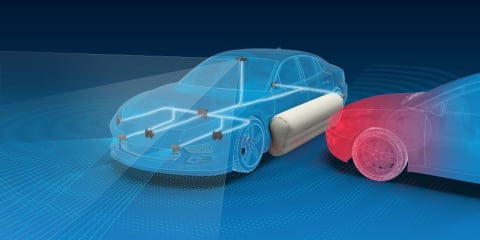 External airbags could reduce injuries by 30 per cent
