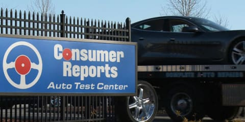 Fisker Karma breaks down during Consumer Reports test