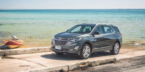 2018 Holden Equinox pricing and specs