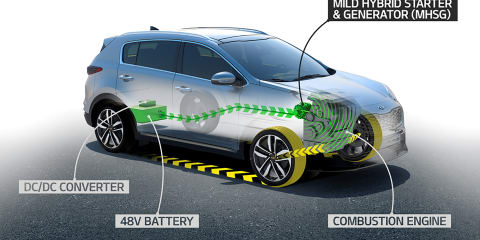 Kia reveals new mild-hybrid system