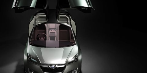 Subaru hybrid concept set for Tokyo