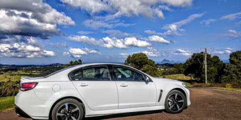 2017 Holden Commodore SV6 review