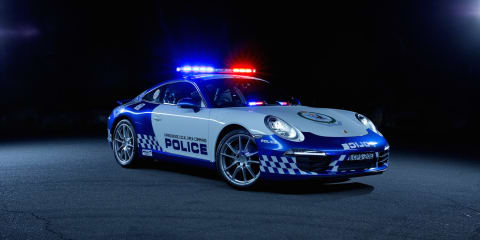 Porsche 911 cop car goes on NSW patrol