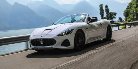 2018 Maserati GranCabrio pricing and specs