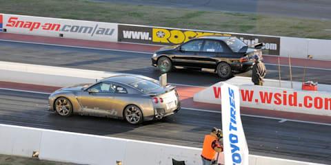 Video: Haltech Nissan GT-R dragstrip