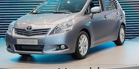 Toyota Verso at Geneva Motor Show