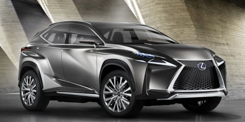 Lexus NX SUV previewed by radical concept