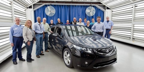 Vauxhall Ampera enters pre-production testing