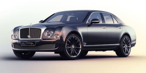 Bentley Mulsanne Speed Blue Train by Mulliner revealed