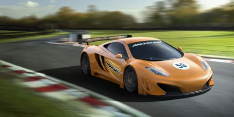 McLaren MP4-12C GT3 race car confirmed