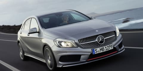 "Mercedes-Benz A-Class: ""A is for attack"" Golf"