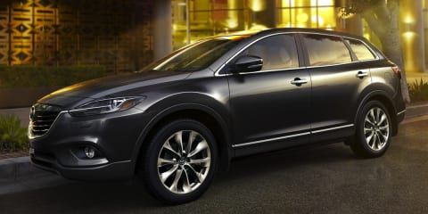 Mazda CX-9 range updated for 2014