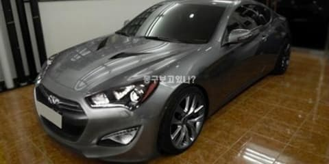 2012 Hyundai Genesis Coupe spotted again