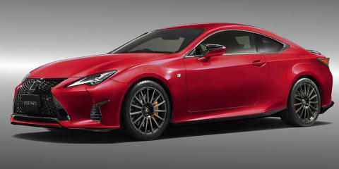 2019 Lexus RC gets TRD treatment in Japan