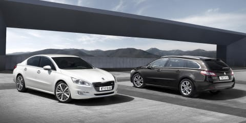 2011 Peugeot 508 previewed ahead of Paris Motor Show