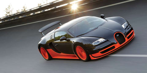 Bugatti Veyron Super Sport achieves 431km/h record
