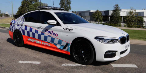 BMW 530d becomes NSW Highway Patrol vehicle