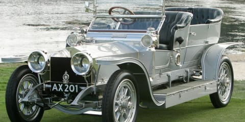 Rolls Royce Silver Ghost to star on silver screen