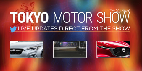 2015 Tokyo motor show :: Live feed