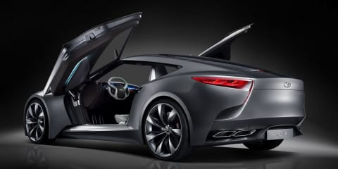 Hyundai HND-9: luxury sports concept teases next Genesis Coupe