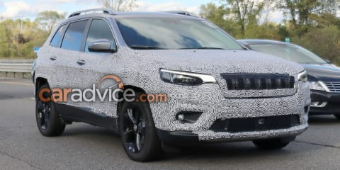 2018 Jeep Cherokee spied: Goodbye quirky headlights