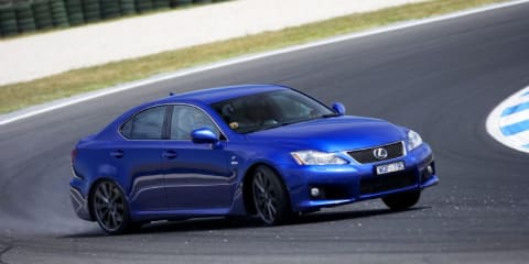 Lexus IS F upgraded - what's the diff?