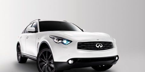 Infiniti FX Limited Edition released in Europe