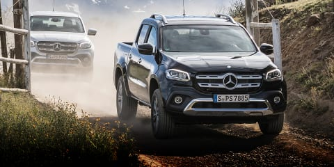 2018 Mercedes-Benz X350d review: X-Class V6 ride-along