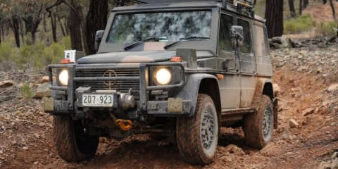 Mercedes-Benz G-Wagon for Australian Defence Force enters production