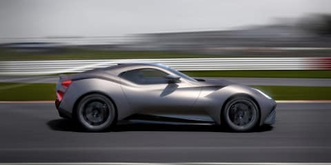New Icona Vulcano claimed to be first titanium and carbonfibre-bodied car