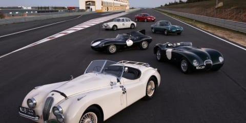 Jaguar drives 75 classics across UK to celebrate 75th anniversary