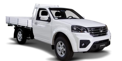 Great Wall Steed cab-chassis launched, priced from $17,990