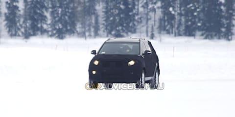 2010 Kia Sportage spied winter testing