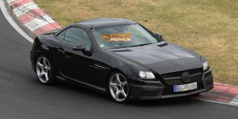 2012 Mercedes-Benz SLK55 AMG to get new 5.5L V8