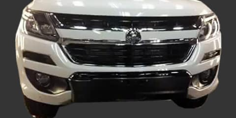 2017 Holden Colorado caught on camera - UPDATE