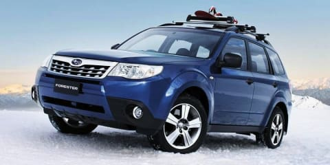 Subaru Forester X Luxury Edition adds more gear