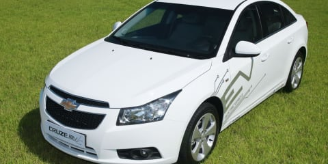 Chevrolet Cruze EV fleet to be tested in South Korea