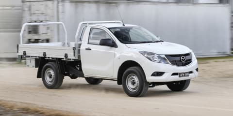 Mazda BT-50 petrol model ruled out