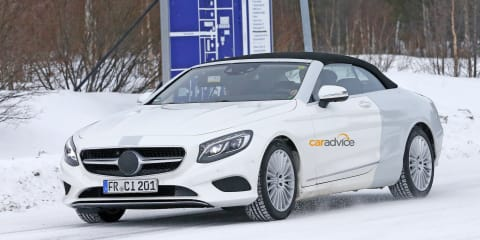 2015 Mercedes-Benz S-Class convertible caught testing again