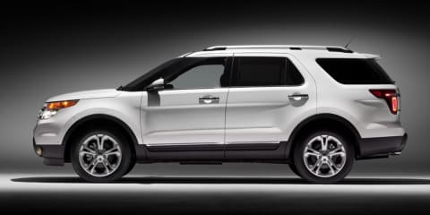 2011 Ford Explorer images released
