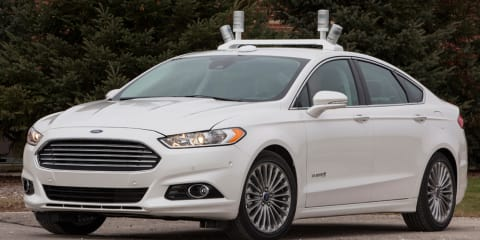 Ford Mondeo:: Driverless hybrid prototype hits the road